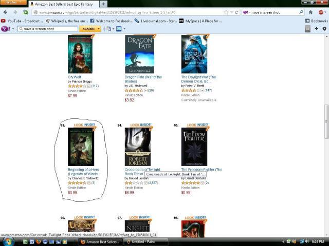 Top 100 Epic Fantasy Ebooks