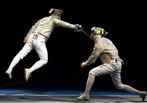 fencing attack