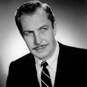 Vincent Price (This is what turned up when I searched for Price in my media files.)