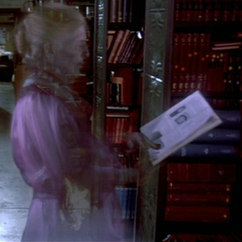 Library Ghost from Ghostbusters