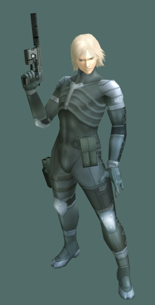 Raiden from Metal Gear Solid Series.  (Crime of not being Solid Snake.)