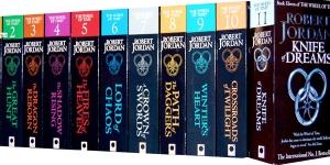 Wheel of Time Books by Robert Jordan