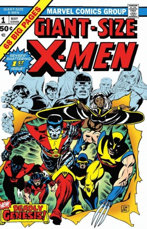 Giant Size X-Men Cover