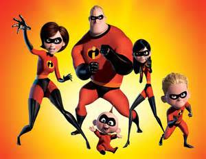 The Incredibles by Pixar