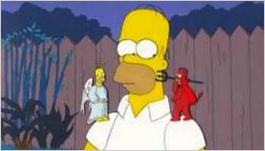 Good Vs Evil (Homer Simpson)