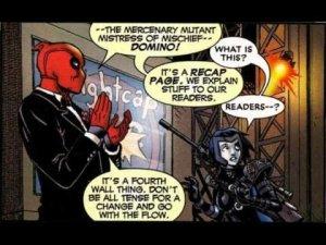 Deadpool from Marvel Comcis