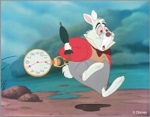 White Rabbit from Alice in Wonderland (Disney)