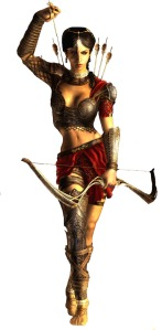 Princess Farah from Prince of Persia