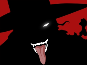 Alucard from Hellsing (Best I could find)