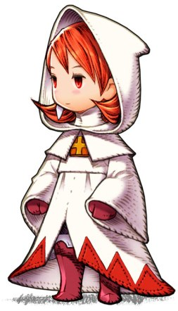 White Mage from Final Fantasy