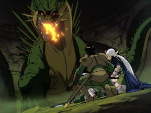 Dragon from Record of Lodoss War
