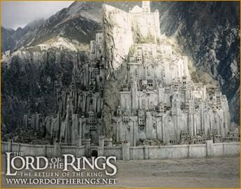 City of Gondor from Lord of the Rings