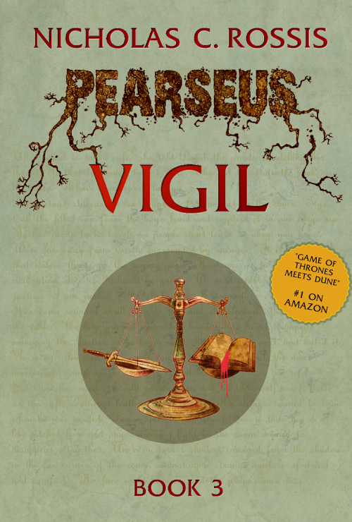 PEARSUS VIGIL NOW AVAILABLE ON AMAZON