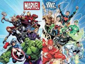 Avengers and Justice League