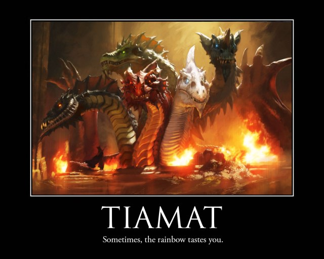 Tiamat from D&D