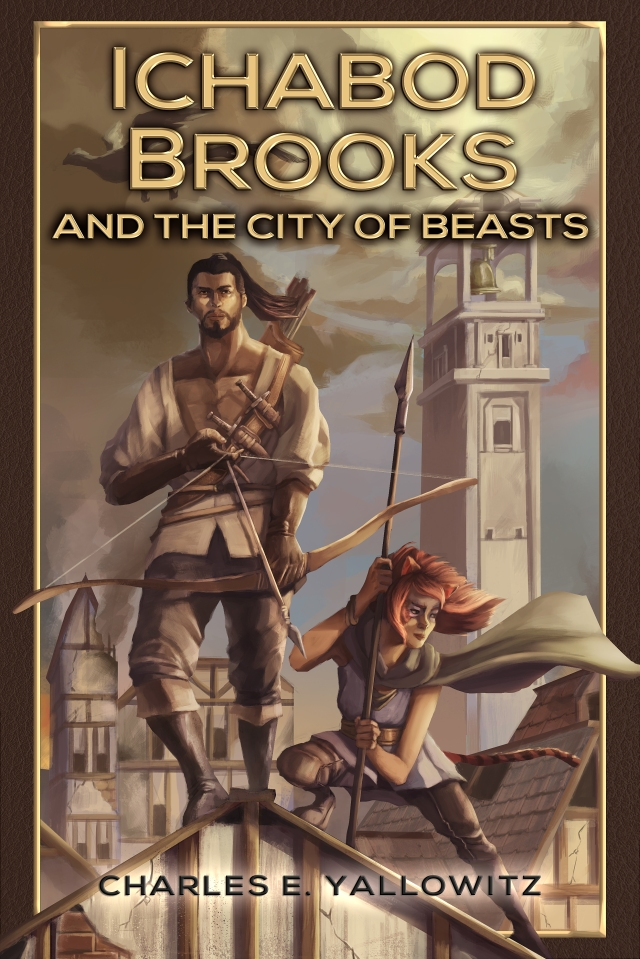 Ichabod Brooks & the City of Beasts (Cover by Nio Mendoza)