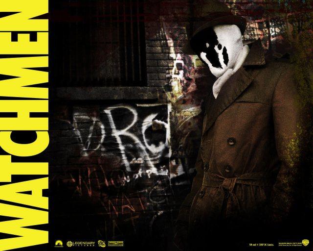 Rorschach from Watchmen