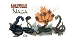 Nagas from D&D