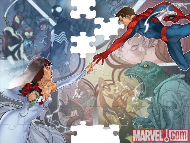 Spider-Man & Mary Jane Watson-PARKER