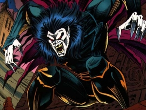 Morbius the Living Vampire from Marvel