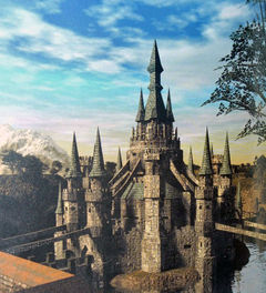 Hyrule Castle because I didn't want to use Hogwarts