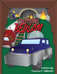 Crossing Bedlam Cover by Jon Hunsinger