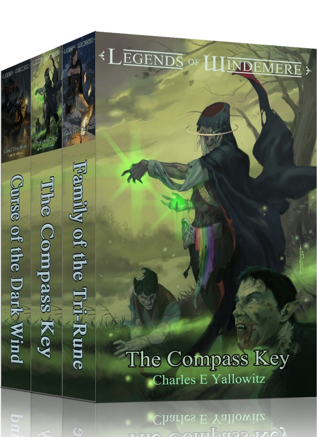 Legends of Windemere Fantasy Series Bundle 2