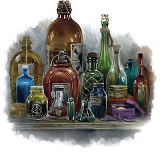 Dungeons & Dragons Potions