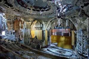 Detroit Theater Ruins