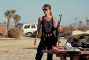 Sarah Connor From Terminator Franchise