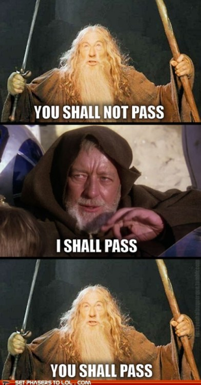 Gandalf and Kenobi