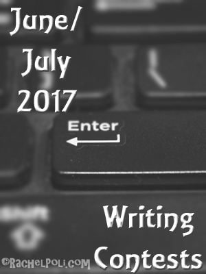 June/July 2017 Writing Contest Deadlines