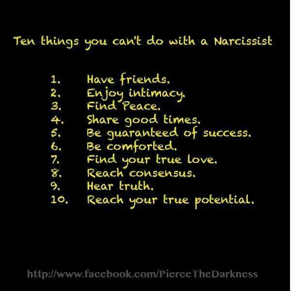 Traits narcissistic friends Narcissism Explained